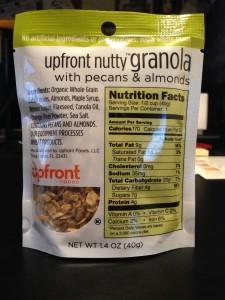 Upfront Nutty Granola