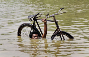 bike flood
